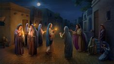 Only the wise virgins can welcome the Bridegroom and attend the wedding feast with Him. How should the wise virgins prepare themselves to welcome the second coming of Jesus Christ? Spirit Of Truth, Holy Spirit, Jesus Second Coming, Jesus Return, Saint Esprit, True Faith, Apocalypse, Praise God, Kirchen