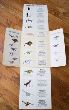 Free Printable Dinosaur Cards and Activity File Folder Book - ResearchParent.com