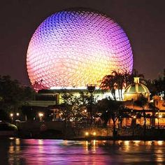 Epcot Center Orlando Florida - My favorite part of Disney world!!