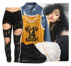 by eazybreezy305 on Polyvore featuring polyvore fashion style NIKE clothing Trendy 2016