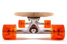 Handmade cruiser longboard skateboard