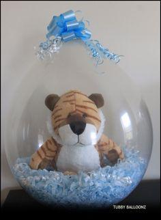 Bashful Tiger!  www.Facebook.com/tubbyballoonz
