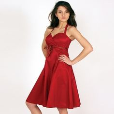 STYLISH RED PROM DRESSES