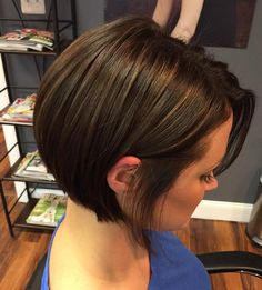 Sleek Bob For Thick Hair