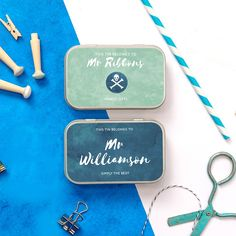 personalised 'thank you teacher' gift tins - pastel edit. Teacher gifts, teacher gifts end of year Thank You Teacher Gifts, Your Teacher, Pastel Edits, End Of Term, Tin Gifts, Tin Cans, Paper Clip, Teacher Appreciation, Tins
