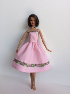 Hey, I found this really awesome Etsy listing at https://www.etsy.com/listing/236224825/handmade-barbie-dress-clothes-pink-dress