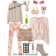A fashion look from February 2015 featuring Uniqlo blouses, Vero Moda blazers and GUESS pants. Browse and shop related looks.