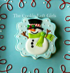 Snowman! | Cookie Connection