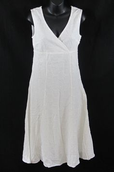 PER UNA SUMMER DRESS NEW IN WHITE SLEEVELESS 8 10 12 14 18 20 AND 22 | eBay