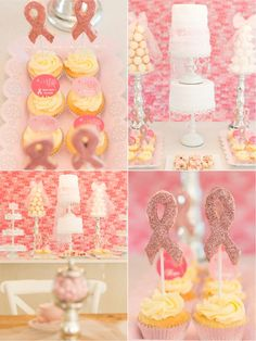 Party Printables | Party Ideas | Party Planning | Party Crafts | Party Recipes | BLOG Bird's Party: FREEBIES: Pink October Party Printables for Breast Cancer Awareness Month