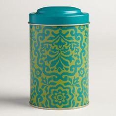 One of my favorite discoveries at WorldMarket.com: Darlington Tea Tins, Set of 4
