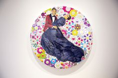 "A Look Inside Pharrell Williams' ""G I R L"" Exhibition at Galerie Perrotin AND I SEE MURAKAMI! <3"