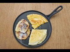 ▶ Apfel-Pfannkuchen, Crepe und Pancakes selber machen - YouTube
