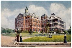 drawings of daughters of charity of st vincent de paul   St. Vincent's Hospital, 1910, Birmingham, Alabama   Flickr - Photo ...