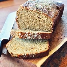 "Paleo Sandwich Bread recipe- Low Carb Sandwich Bread     5 eggs,    4 egg whites     1/3 c coconut oil, melted     1/3 ccoconut butter     1/3 ccoconut flour     3 TBSP psyllium husk powder (dont sub)     1/2 tsp baking soda     1/2 tsp apple cider vinegar   350° F....rises in2""loaf"" shape w/7.5""x3.5"" Magic Line pan) whisk eggs w/coconut oil &coconut butter. Add coconut flour, psyllium, baking soda ACV.Bake 35-40 minutes.via Cook it up paleo website."