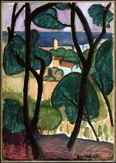 Henry Matisse. View of Collioure
