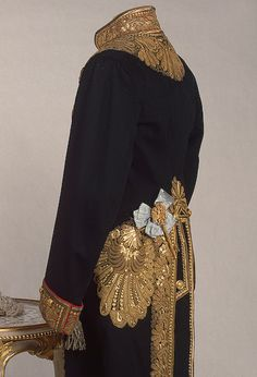 Chief-Chamberlain's uniform, late 19th to early 20th Century.