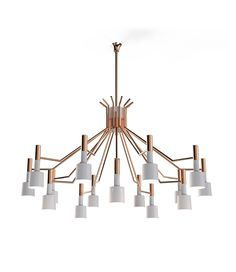 The best mid-century modern lighting collection. Be inspired for your interior design and home decor project | www.delightfull.eu  #livingroomideas #uniqueblog #modernfloorlamps #contemporarylighting #modernhomedecor #interiordesignideas #interiordesignproject #homedesignideas #midcenturystyle #moderndesign #luxurydecor #uniquelamps
