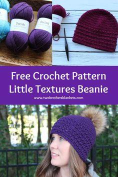 Crochet Kids Hats, Love Crochet, Beautiful Crochet, Double Crochet, Single Crochet, Easy Crochet, Crochet Ideas, Crochet Projects, Crochet Patterns