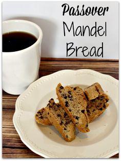 Cinnamon & Chocolate Chip Passover Mandel Bread - best Passover recipe!!!  Must try!