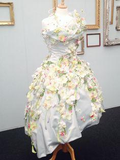 Flower dress, Grand Pavillion.