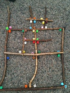 Outdoor Maths: investigating right angles with sticks