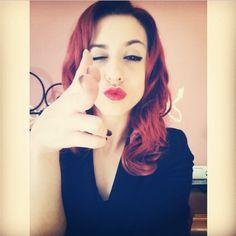 Redhead beauty Cora