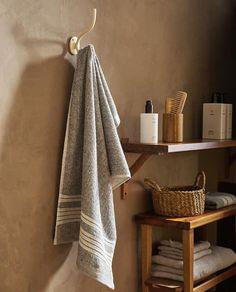Zara Home, Cotton Towels, Bathroom Inspiration, Bath Towels, Bathroom Hooks, Tent, Interior, Image, Photography