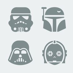 star wars characters free templates - Cerca con Google