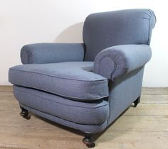 A very large century upholstered armchair