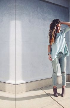 Shop this look Fall Outfits, Casual Outfits, Cute Outfits, Fashion Outfits, Spring Summer Fashion, Autumn Winter Fashion, Winter Style, Fall Fashion, Mein Style