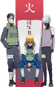 NARUTO Naruto Kakashi, Anime Naruto, Naruto Boys, Naruto Teams, Naruto Shippuden Anime, Gaara, Shikamaru, Sasunaru, Neji E Tenten