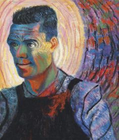 Self portrait by Paul Camenisch Sale Artwork, Expressive Brushstrokes, Global Art, Degenerate Art, Artist, Painting, Daily Art, Expressionist, Art Market