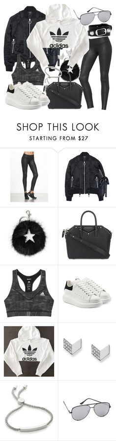 """""""Untitled #20834"""" by florencia95 ❤ liked on Polyvore featuring Nicopanda, STELLA McCARTNEY, Givenchy, adidas, Alexander McQueen, FOSSIL, Monica Vinader, Quay and Balenciaga"""