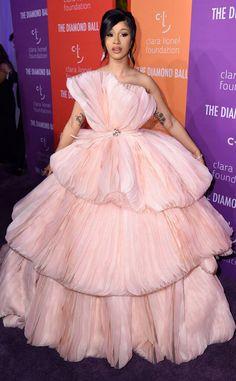 Cardi B from Rihanna's 2019 Diamond Ball: Star Sightings Rihanna, Coachella, Cardi B Photos, B Fashion, Hollywood, Red Carpet Looks, Ball Gowns, Celebrity Style, Celebs
