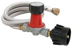 Bayou Classic 0-30 PSI Adjustible Regulator/Hose Assembely - http://www.outdoorcookinggrills.com/bayou-classic-0-30-psi-adjustible-regulatorhose-assembely/