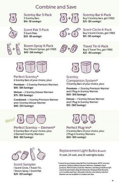 Combine & Save msheather.scentsy.us or email me Holli.gilbert87@yahoo.com #scentsy #wickless