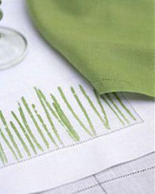 Tabletit ruohokuvioinnilla (aidosta ruohosta)