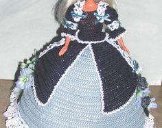 Crochet poupée Barbie Pattern - #675 Couturier ORIGINAL #3