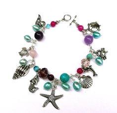 SemiPrecious Gemstones & Blue Akoya Pearl Silver by IslandGirl77, $29.99