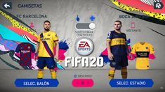 JUEGOS DE FÚTBOL ANDROID: YA SALIO! FIFA 20 ANDROID OFFLINE GRAFICOS HD, EQU... Fifa, Fc Barcelona, Youtube, Android, Baseball Cards, Sports, Real Madrid Wallpapers, Hs Sports, Sport