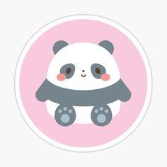 'We Bare Gumdrop Bears' Sticker by jolifishi Cute Panda Wallpaper, Cartoon Wallpaper Iphone, Bear Wallpaper, Kawaii Wallpaper, We Bare Bears Wallpapers, Panda Wallpapers, Cute Cartoon Wallpapers, Cute Cartoon Drawings, Cute Animal Drawings