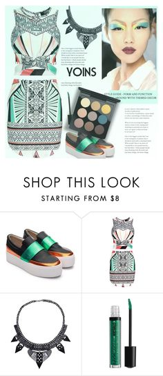 """""""yoins 17"""" by meyli-meyli ❤ liked on Polyvore featuring MAC Cosmetics, yoins, yoinscollection and loveyoins"""