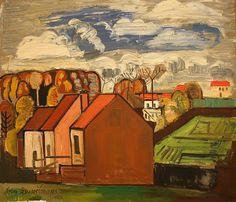 Jean Brusselmans, 1936, Paysage à Dilbeek, 1936 by f_snarfel, via Flickr
