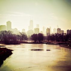 Chicago Skyline photography of Chicago wall decor by TraceyCapone, $30.00