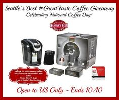 #nationalcoffeeday win a Keurig 2.0 prize pack #GreatTastes ends 10/10 US Only