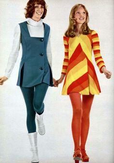 French Fashion Stunning Women's Styles from 1971 France – Flashbak L'officiel de la mode – de 1971 kh Decades Fashion, 60s And 70s Fashion, 70s Inspired Fashion, French Fashion, Look Fashion, Retro Fashion, Vintage Fashion, 70s Women Fashion, Seventies Fashion