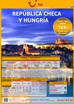 República Checa y Hungría. Precio final desde 767€ - http://zocotours.com/republica-checa-y-hungria-precio-final-desde-767e/