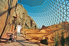 Omaha's Henry Doorly Zoo and Aquarium It's easy to see why this zoo consistently receives high marks. First, it's huge. Second, its design lets you commune with gorillas, sharks, snakes, butterflies and all sorts of other creatures. It's also home to the largest indoor desert habitat in the world, capped off with a stunning three-story dome.