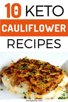 Cauliflower is the best vegetable to help you lose weight. Most of the Ketogenic recipes are made with cauliflower. Have you ever try cauliflower as an ingredient for your meals? Healthy Low Carb Recipes, Low Carb Dinner Recipes, Low Carb Keto, Keto Dinner, Protein Recipes, Lunch Recipes, Healthy Meals, Ketogenic Crockpot Recipes, Keto Recipes